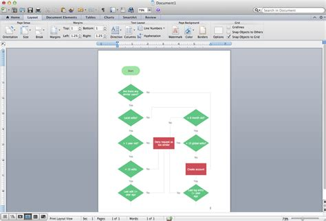 how to flowchart in microsoft word 2007 2010 2013 and 2016