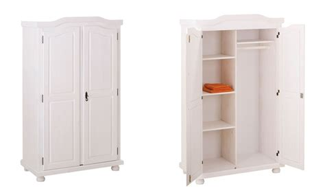 armadio altezza 160 armadio a 2 o 3 ante in legno groupon goods