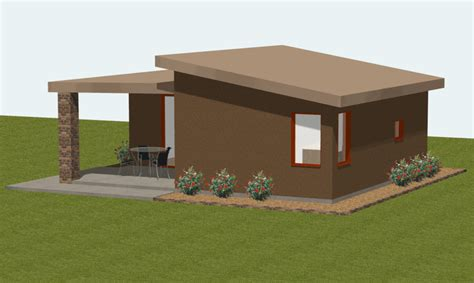 modern guest house plans small house plan small guest house plan