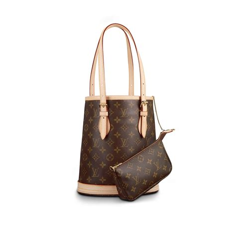 petit bucket monogram handbags louis vuitton