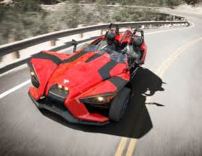 new car with 3 wheels polaris slingshot three wheeler unveiled w