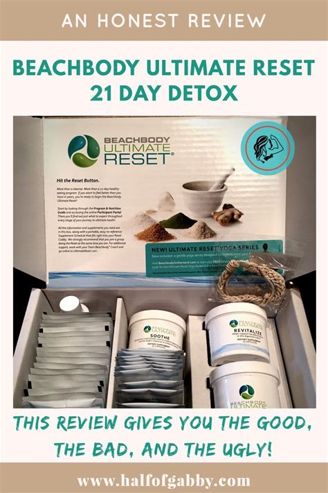 21 Day Detox Reviews by Honest Review Of Beachbody S Ultimate Reset 21 Day Detox