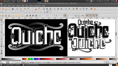 design kotf font font design screenshot by quicheloraine on deviantart