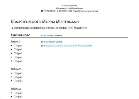 Lebenslauf Beratung Frankfurt Richtig Bewerben Das Kompetenzprofil Beratung Kathrin S 252 Dmeyer Ihr Karrierecoach Und
