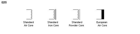 standard symbol for inductor ferrite schematic symbol ferrite free engine image for user manual