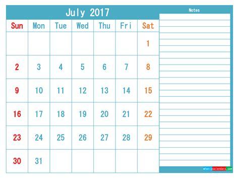 july  printable calendar templates   image  printable  monthly calendar