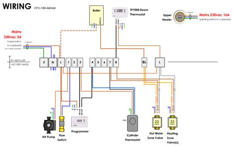 cylinder thermostat wiring diagram 34 wiring diagram