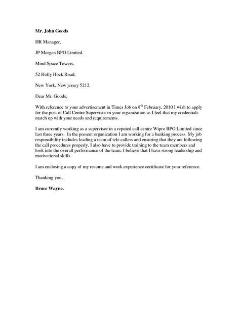 Sle Cover Letter For Call Center Representative sle cover letter for call center 28 images leading