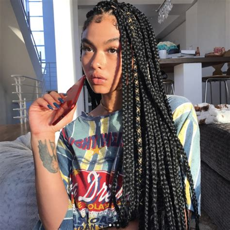 how to style my braided hair blocks 15 dope box braids hairstyles to try allure