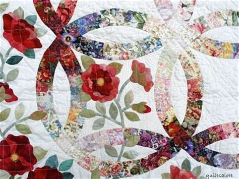 applique wedding ring quilt pattern double wedding ring applique pattern appliq patterns