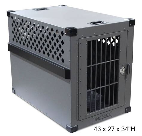 heavy duty kennel heavy duty crate xx large stationary aluminum