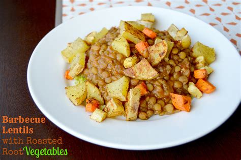 barbecue vegetables bbq lentils with roasted root vegetables heartland soul