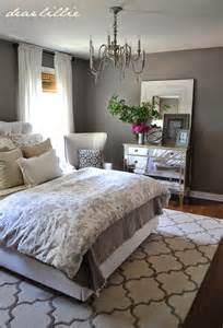 Gray Guest Bedroom Ideas Dear Lillie Some Finishing Touches To Our Gray Guest Bedroom