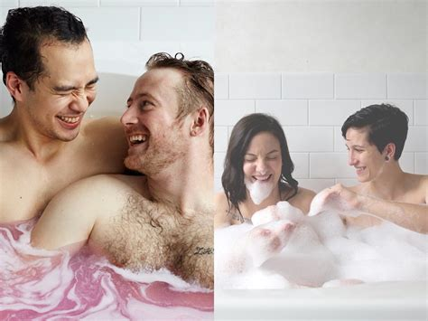 gay guys in the bathroom lush s new lgbt inclusive ad caign is too cute to