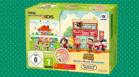 animal crossing 3ds console animal crossing happy home designer nintendo 3ds jeux