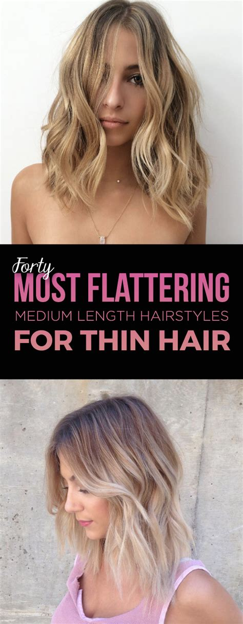 most flattering hair length for women hairstyles for thin hair over 40 life style by