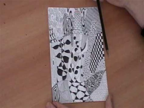 zentangle pattern youtube how to zentangle youtube