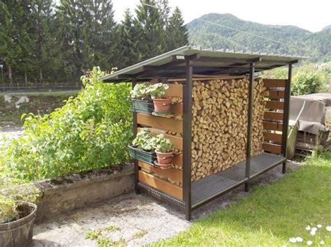 tettoia per legnaia realizzare una legnaia fai da te tecniche di fai da te