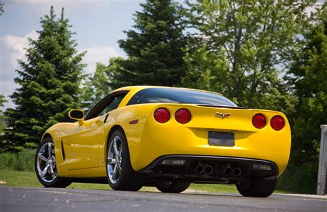 corvette c6 yellow 2008 chevrolet corvette c6 yellow lingenfelter 670 hp