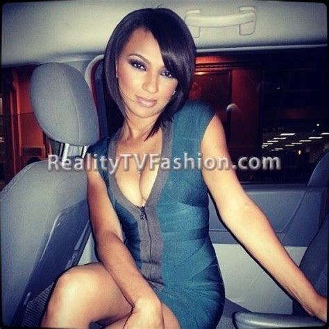 how old is tara from love and hip hop tara wallace s herv 233 l 233 ger front zip bandage dress on
