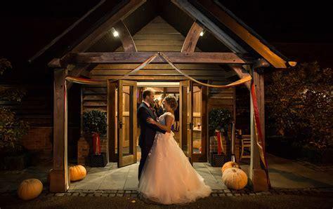 Lorna & Paul's Autumnal Celebration   Sandhole Oak Barn