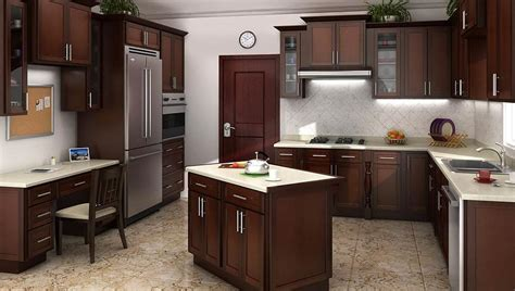kitchen cabinets assembly required mocha shaker kitchen cabinets