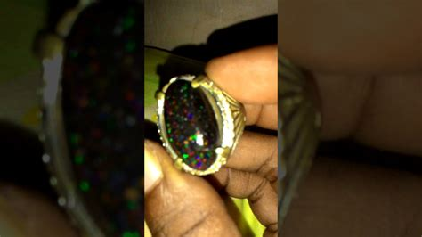Black Opal Banten Big Size kali black opal kembang rintik hujan big size