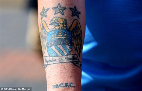 tattoo removal manchester city consider paying for fans to remove tattoos of