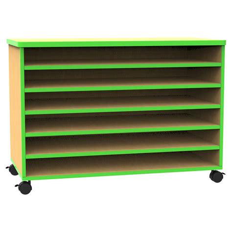 quot the edge quot mobile a1 paper shelf storage