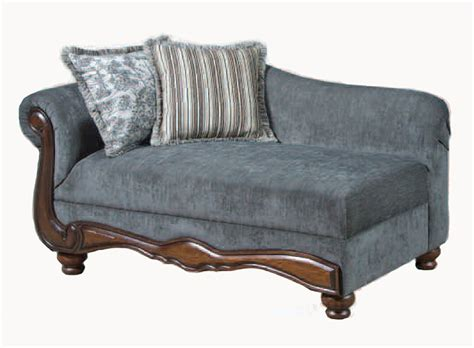 serta chaise odysseus hematite gray tanglewood brown fabric chaise by