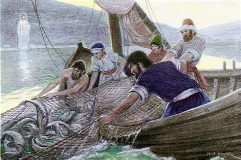 st goes on what side why jesus tells the disciples to cast their net on the