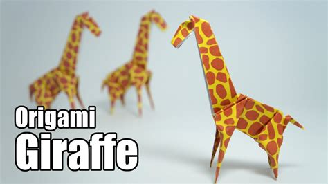 How To Make Paper Giraffe - origami giraffe jo nakashima