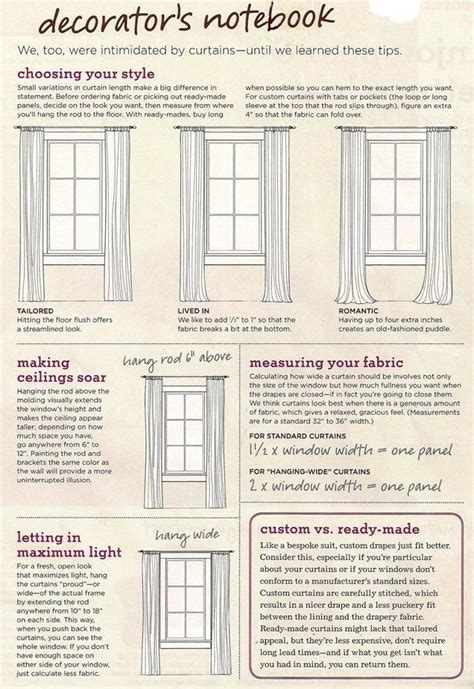 curtain hanging guide for 2 bedroom windows that are 13 quot from ceiling 45 5 quot w