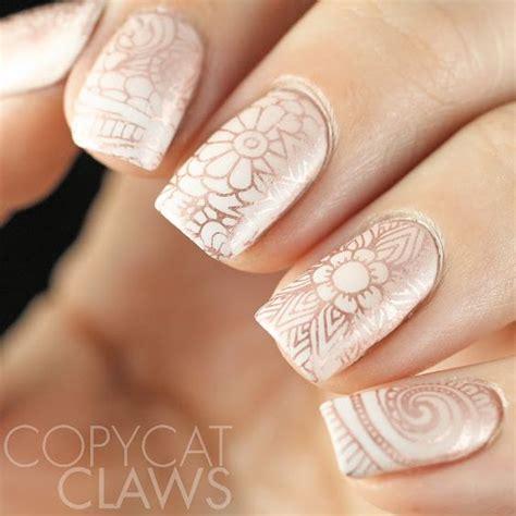 imagenes de uñas pintadas con sellos 135 im 225 genes con los mejores dise 241 os de u 241 as decoradas