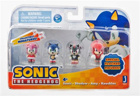 sonic figure set  feature tiny  collectible
