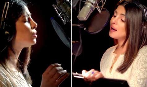 priyanka chopra latest english song baba video song first marathi song sung by priyanka