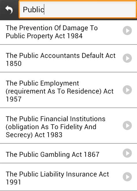 Indian Laws Search Indian Bare Acts Books Android Apps On Play