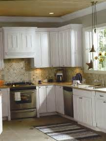kitchen backsplash ideas white cabinets black and