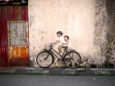design art penang 사진은 권력이다 평범한 2d 벽화를 넘어서 3d 동네 벽화를 이용한 사진놀이