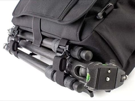 how to attach a tripod to nearly any bag w/ think tank