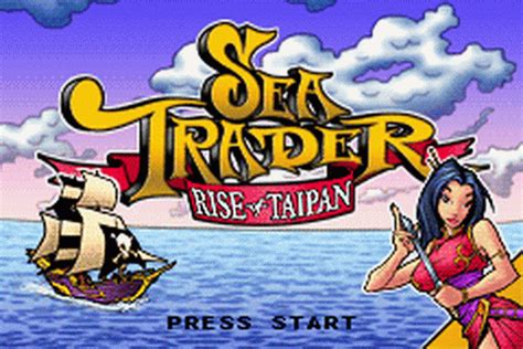 play sea trader rise of taipan nintendo game boy advance