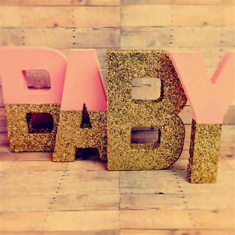 Rent Letters For Baby Shower 25 Best Ideas About Baby Letters On Baby Shower Decorations Nursery Letters