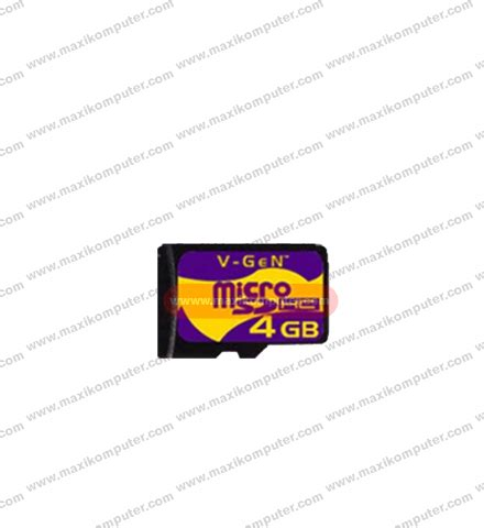 Best Produk Micro Sd Vgen 4gb V 4 Gb Djs1211 micro sd v 4gb
