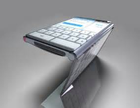 Reading Space Ideas Lg Triptych Folding Phone Turns Into A Tablet Concept Phones