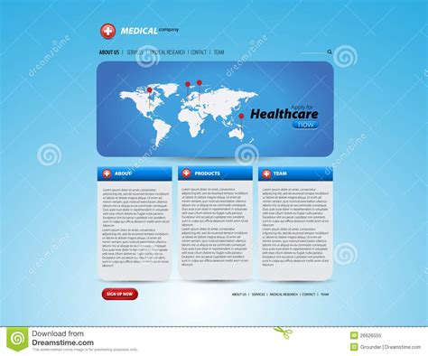 templates for medical website free download healthcare and medical website template layout royalty