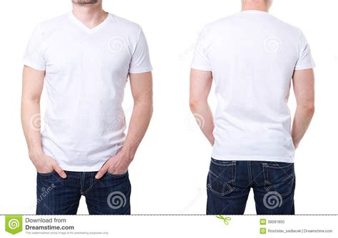 t shirt template with model white t shirt on a template stock photo image