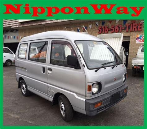mitsubishi minicab 4x4 mitsubishi minicab 4x4 japanese import push button 4x4