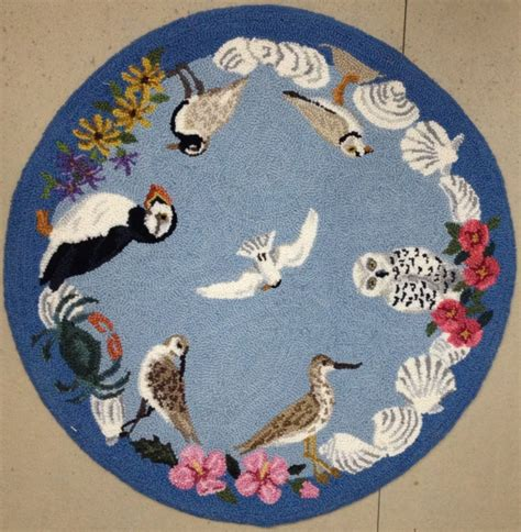 Rugs With Birds by Finished Sea Bird Rug The Ruggery