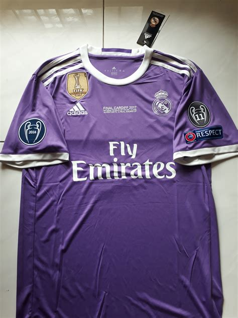 Jersey Real Madrid 3rd 1516 Patch Ucl cheap soccer jerseys shop free worldwide shipping