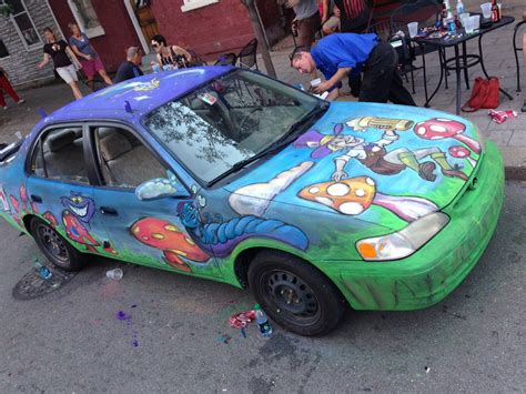 chalkboard paint your car chalkboard paint on a car is a thing now partly irrelevant
